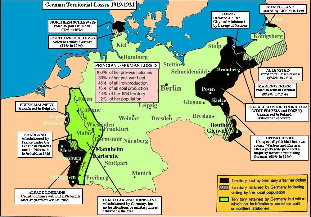 the treaty of versailles effect on germany essay The treaty of versailles was a peace treaty, signed on june 28, 1919, to officially end world war i this treaty required germany to accept full responsibility for.